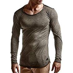 LEIF NELSON Herren oversize Sweatshirt Hoodie Hoody LN6322