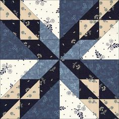 April 5 Patch as Path Can. This block is one from the Aunt Martha series published by Colonial Patterns Inc in Colonial Patterns was founded in the and still publishes patterns today from Kansas, USA. Quilt Block Patterns, Pattern Blocks, Quilt Blocks, Quilting Projects, Quilting Designs, Jellyroll Quilts, Patchwork Quilting, Civil War Quilts, Sampler Quilts