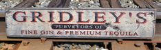 Personalized Purveyor Distillery Wood Sign  by TheLiztonSignShop