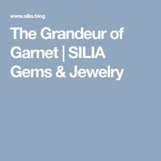The Grandeur of Garnet My Gems, Gems Jewelry, Rose Quartz, Garnet, Beads, Gemstone Jewelry, Granada, Beading, Pink Quartz