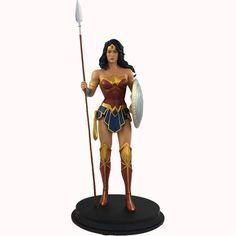 DC Comics Wonder Woman with Spear Rebirth Statue - San Diego Comic Con 2017 Exclusive