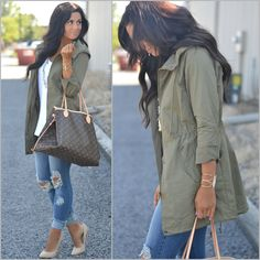 88 Best Military Jacket Outfits Images Casual Outfits Jackets