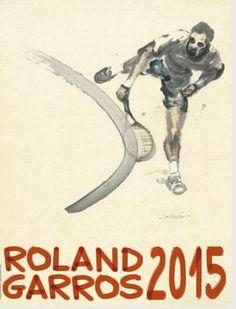 Presentado el poster de Roland Garros 2015, obra del artista chino Du Zhenjun