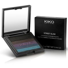 Discover online the exclusive KIKO Palette with five highly-pigmented colours to use as eyeshadow or eyeliner. Ideal to create eye make-up that is constantly new and suitable for any occasion. Professionelles Make Up, How To Do Eyeliner, Dark Eyeshadow, Kiko Milano, Face Lines, Eye Liner Tricks, Palette, Skin Care Treatments, Pencil Eyeliner