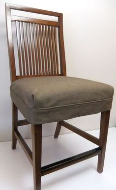 I like this with an added small ruffle. A simple, tailored fit works best when using heavy weight denim for seat slipcovers. Chair Cushion Covers, Seat Covers For Chairs, Dining Chair Covers, Kitchen Chair Covers, Gray Dining Chairs, Dining Room Chair Cushions, Dining Chair Slipcovers, Ikea Dining, Arm Chairs
