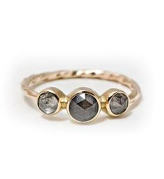 Triple grey diamond