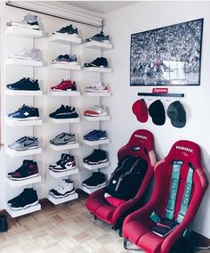 The shoe wall is a need for my room.