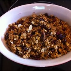 Crunchy Granola Breakfast Cereal Allrecipes.com