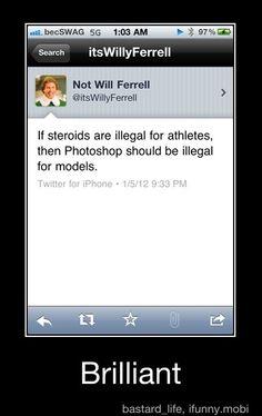 Wisdom a la Will Ferrell