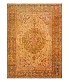 Look at this #zulilyfind! Ivory Tabriz Rug by Concord Global Trading, Inc. #zulilyfinds