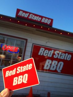 Red State BBQ - A Lexington, KY original. We LOVE locally owned businesses and Red State is EXCELLENT!