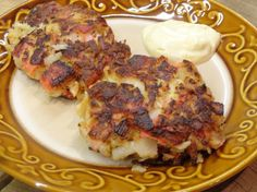 These are some mighty good crab cakes! The fresh herbs add a lovely pop of flavor. As does, the Worcestershire sauce. And the sauce tops them perfectly. Serve these as a main dish, side dish ... or they'd even be good as a sandwich. Savory and delicious!