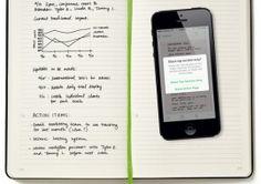 Moleskine Evernote Smart Notebook – transfer your notes from long form to digital effortlessly