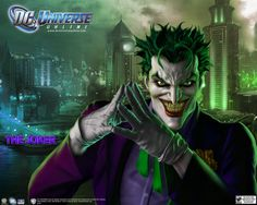 Joker Smile DC Universe Online Wallpaper - Visit to grab an amazing super hero shirt now on sale!