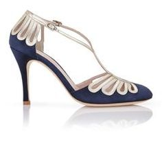 Art Deco inspired shoes