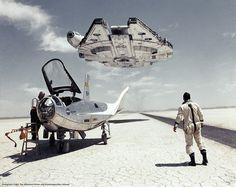 The Flight of the Falcon #starwars #millenniumfalcon