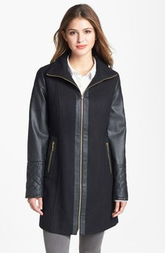 .....would've looked nicer with silver zipper...from Nordstrom...