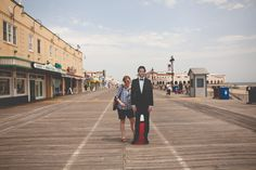 Bradley Cooper & I on the OC Boardwalk...before the post-Memorial Day crowds