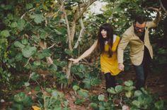 Sesión de fotos pre boda estilo hipster inspirada en Wes Anderson [Fotos]