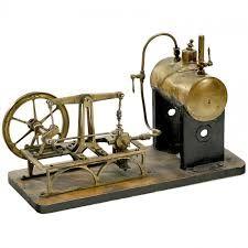 """walking beam steam engine """"plank"""""""