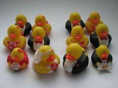 Bridal Party Rubber Ducks