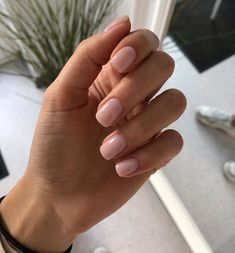 Gelish Nails, Nude Nails, Nail Manicure, Acrylic Nails, Nail Polish, Nail Ring, Minimalist Nails, Classy Nails, Top Nail