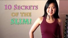 10 Secrets of the 'Naturally' Slim People... Shhhh....