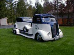Empresa Tow truck.jpg de Restauración de coches personalizados y Streetrods por Denny Inc. Enumclaw 98022