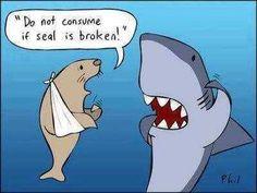 If seal is broken...