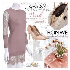 """""""Romwe 1."""" by selmagorath ❤ liked on Polyvore featuring women's clothing, women, female, woman, misses and juniors"""