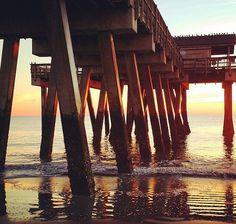 How long has it been since your last #TybeeIsland sunrise? Too long we imagine... [IG Photo @therealmrsly] #VisitTybee #Savannah #Sunrise