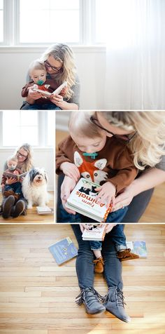 one year portraits. these are perfection. bridget knight photography