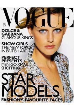 Stella Tennant December 1997 British Vogue by Tom Munro