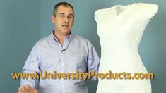 Fosshape rigid material for mannequin form.
