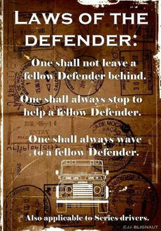 Defender / Series Rules