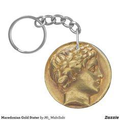 Macedonian Gold Stater Key Ring