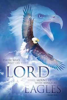 Trusting God and daring to wait on Him, is key to our walk with Him. When we hold on to our own securities and control, His Spirit cannot lead us where He wants us to be, in order to receive His full blessing. This beautiful Christian wall art shows the eagle, symbol for our faith in God, the deep surrender to the Spirit (wind) of God, who carries us and brings us to His heights.