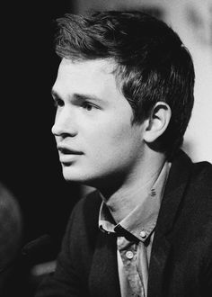 Ansel Elgort attends the press conference for 'Men, Women & Children' during the 58th BFI London Film Festival at The Mayfair Hotel (October 9, 2014).