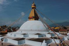 A stupa in Kathmandu, Nepal