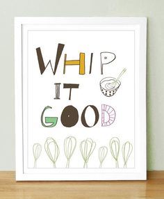 Laughter in the kitchen is a must and so is this painting!