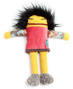 raplapla - nos collections - jouets en tissu pour bébés et enfants - poupées - Léa
