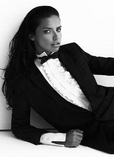 "Adriana Lima in ""Adriana and Beyond"" for Vogue Turkey May 2014, ph. by Koray Birand."