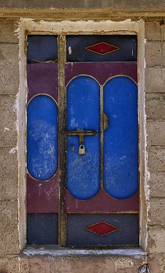 "From my series, ""The Doors of Yemen""."