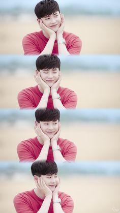 Lee Jong Suk So Cute While You Were Sleeping ♡ Drama Korea, Korean Drama, Lee Jong Suk Wallpaper, Kang Chul, Jung Joon Young, Lee Jung Suk, Han Hyo Joo, W Two Worlds, While You Were Sleeping