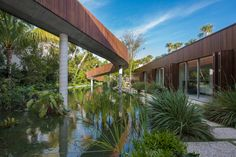 A Miami Beach Home with a Swimmable Lagoon