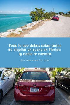 Después de nuestra experiencia, en este artículo encontrarás todo lo que hay que saber antes de alquilar un coche en Florida (y que nadie te cuenta). Universal Studios, Florida Maps, United States Map, Before We Go, Traveling