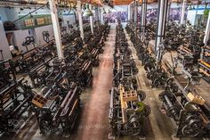 Textile Factory by JUANORTIZPHOTOGRAPHER