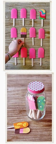 Make matching fun with popsicle sticks. Make matching fun with popsicle sticks. The post Make matching fun with popsicle sticks. appeared first on Pink Unicorn. Toddler Activities, Preschool Activities, Cognitive Activities, Preschool Learning, Educational Activities, Kids Crafts, Papier Diy, Popsicle Sticks, Popsicle Molds