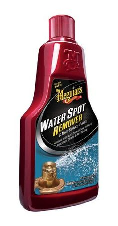Meguiar's A3714 Compound Water Spot Remover - 16 oz.. For product info go to:  https://www.caraccessoriesonlinemarket.com/meguiars-a3714-compound-water-spot-remover-16-oz/