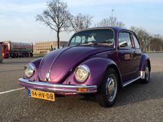 My purple VW Beetle